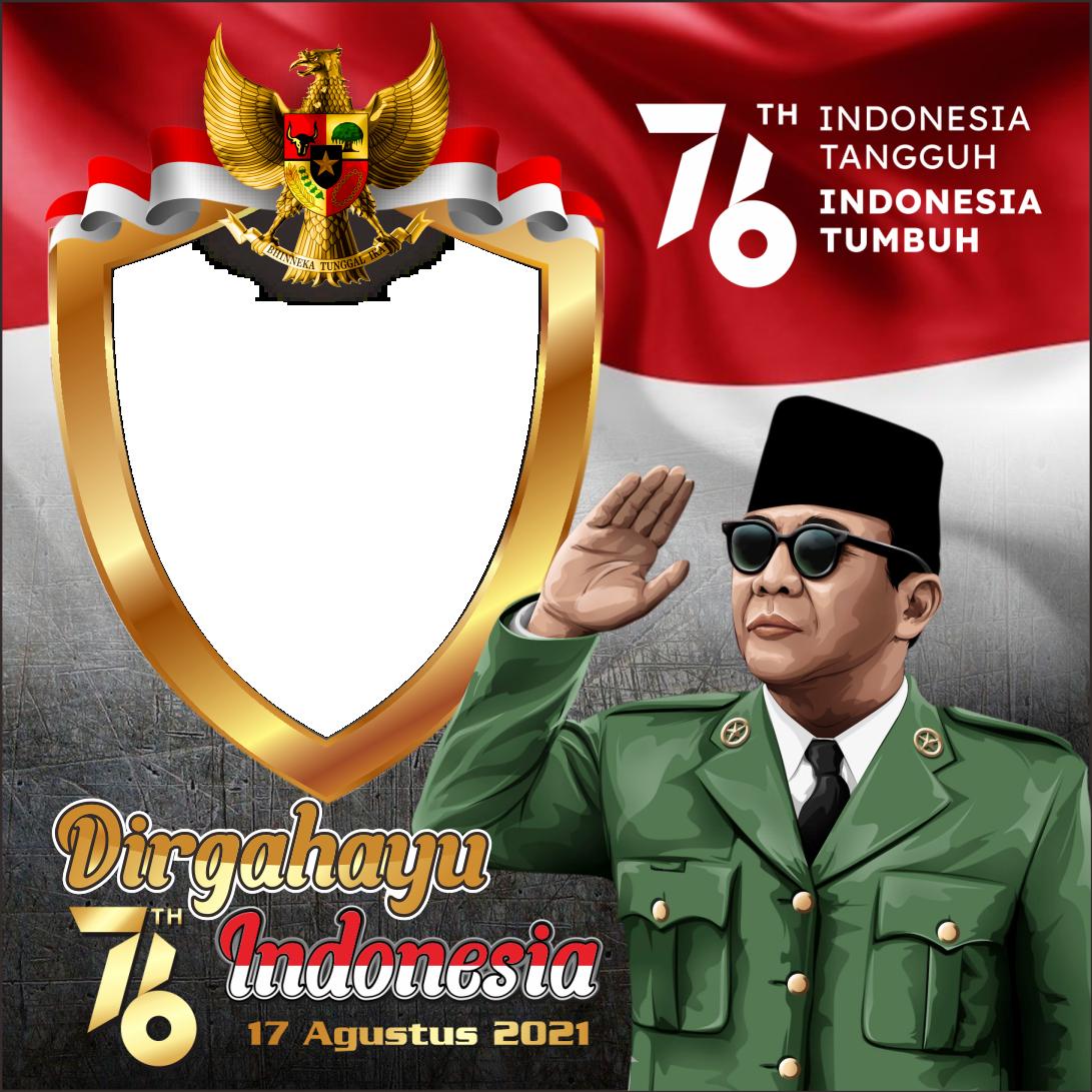 9 Link Desain Twibbon Terbaru HUT ke-76 Republik Indonesia, Cocok untuk Dibagikan di Sosial Media