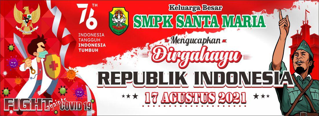 Banner Dirgahayu Indonesia SMPK-2